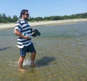 pe mijlocul Dunarii la Giurgeni