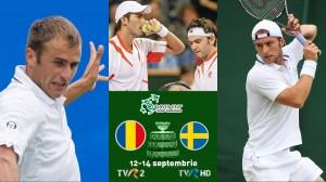Începe Cupa Davis. România-Suedia, în direct la TVR 2. Simona Halep îi va susţine pe jucătorii români din tribune