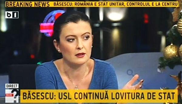 Sorina Matei revine pe B1 TV cu Actualitatea Românească