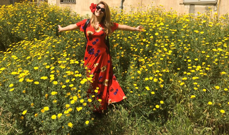 Amalia Enche in Israel (2) - Copy