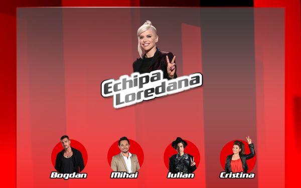 echipa Loredana