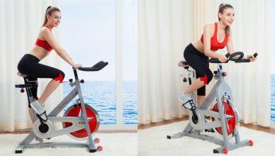 bicicleta de fitness