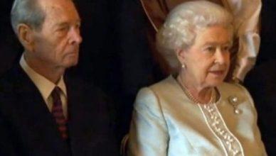 Regele Mihai regina Elisabeta